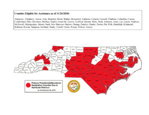 Cover photo for [Deadline: Dec.10] Additional Counties May Be Eligible for Agricultural Disaster Assistance